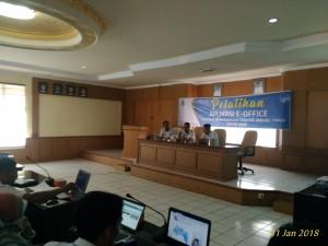 DInas Pemberdayaan Masyarakat dan Desa Mengikuti Pelatihan Aplikasi E-Office