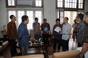 Bupati bertemu dengan Wamen ESDM Archandra Tahar